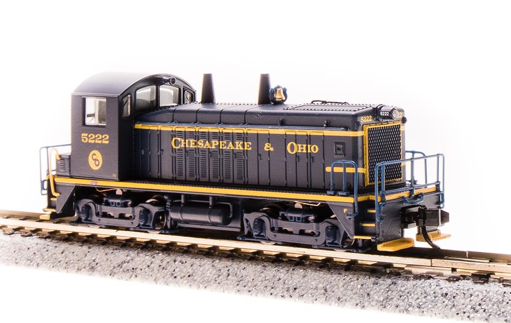 N Scale - Broadway Limited - 3878 - Locomotive, Diesel, EMD SW7 - Chesapeake & Ohio - 5224