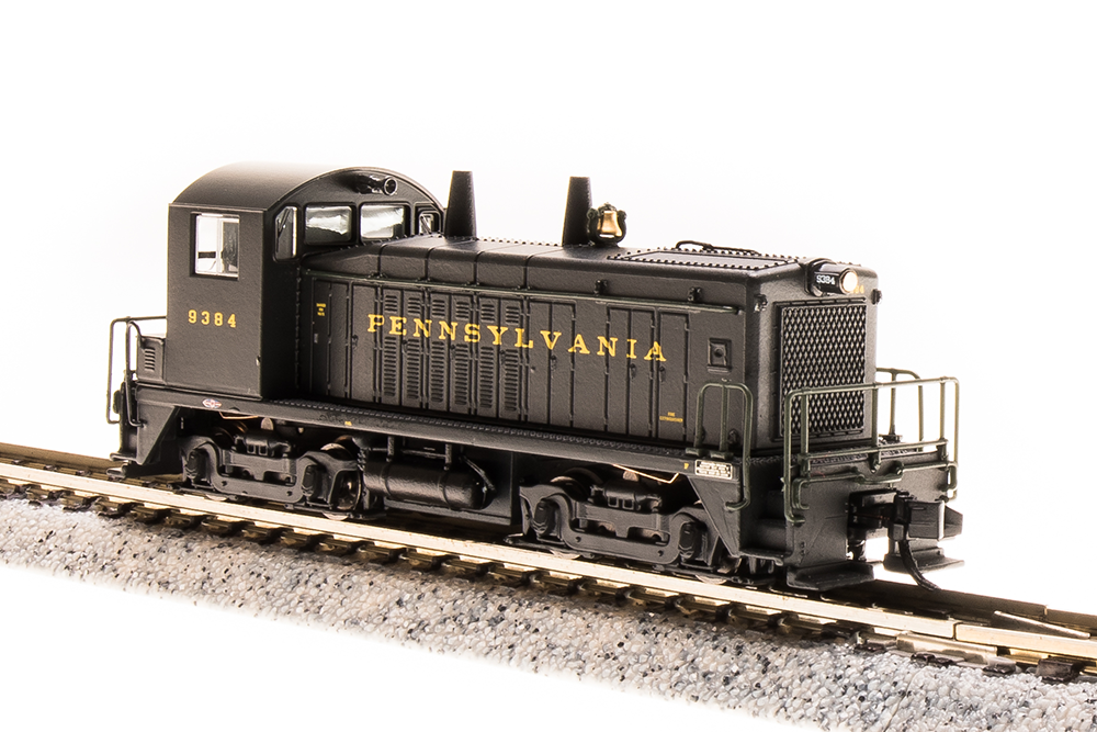 N Scale - Broadway Limited - 3883 - Locomotive, Diesel, EMD SW7 - Pennsylvania - 9384