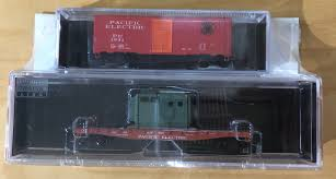 N Scale - Various - NSC 05-Set 4 - Mixed Freight Consist, North America, Transition Era - Pacific Electric - 2-Pack