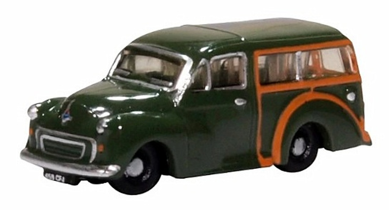 N Scale - Oxford Diecast - NMMT008 - Automobile, Morris Minor - Painted/Unlettered - 459 CFJ