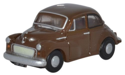 N Scale - Oxford Diecast - NMOS002 - Automobile, Morris Minor - Painted/Unlettered - VDP 374F