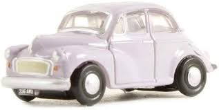 N Scale - Oxford Diecast - NMOS001 - Automobile, Morris Minor - Painted/Unlettered - 336 AWO