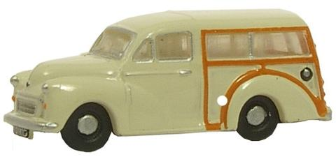 N Scale - Oxford Diecast - NMMT001 - Automobile, Morris Minor - Painted/Unlettered - TYD 197G