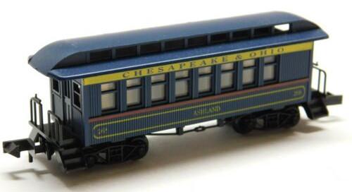 N Scale - Roundhouse - 8504 - Passenger Car, Early, Overton - Chesapeake & Ohio - 237