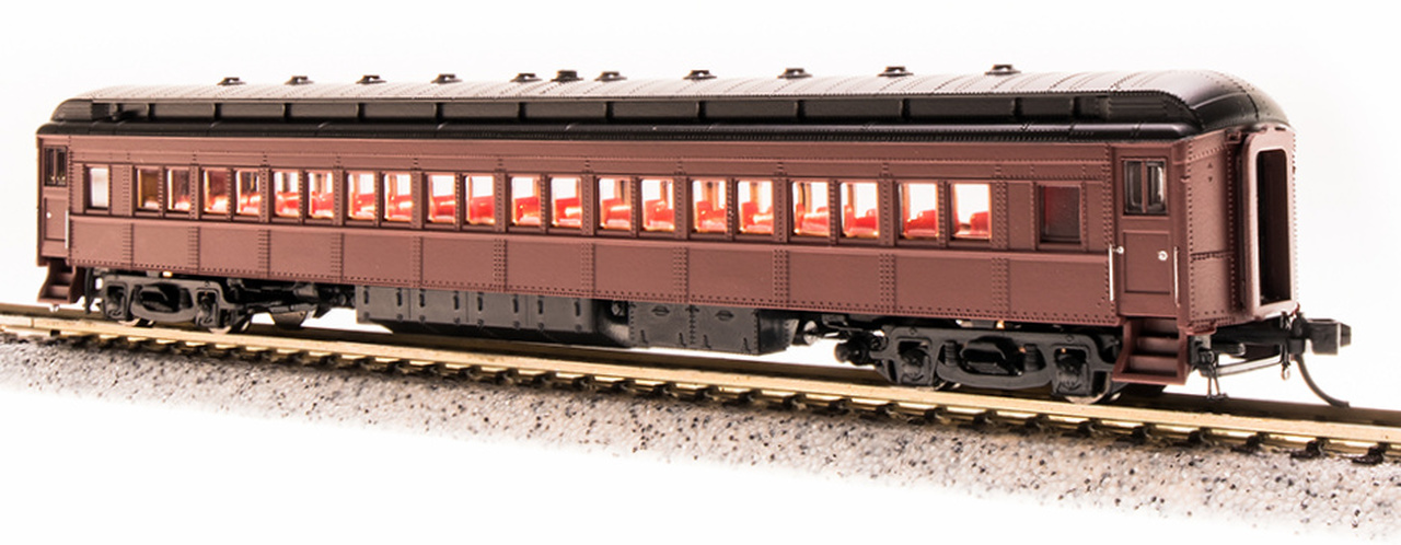 N Scale - Broadway Limited - 3772 - Passenger Car, Heavyweight, Pennsy P70 Coach - Painted/Unlettered