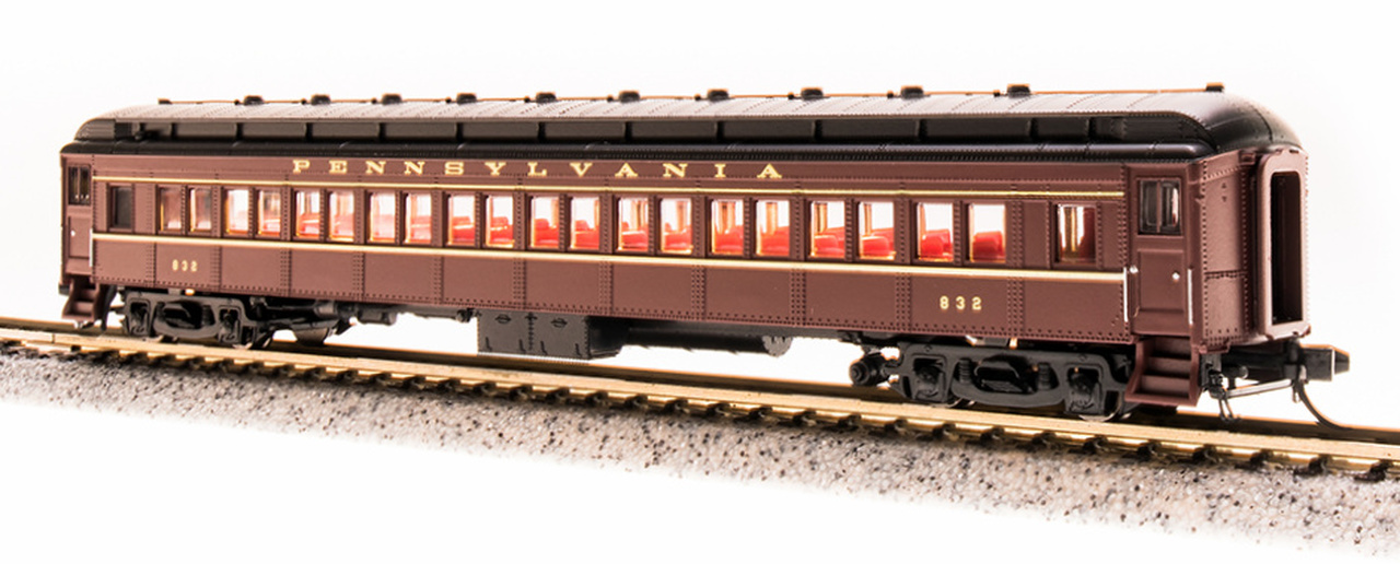 N Scale - Broadway Limited - 3769 - Passenger Car, Heavyweight, Pennsy P70 Coach - Pennsylvania - 1046