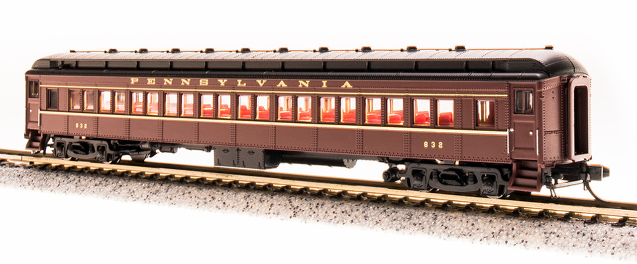 N Scale - Broadway Limited - 3768 - Passenger Car, Heavyweight, Pennsy P70 Coach - Pennsylvania - 830