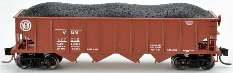 N Scale - Bowser - 38051 - Hopper, 4-Bay, 70 Ton - Virginian - 177212