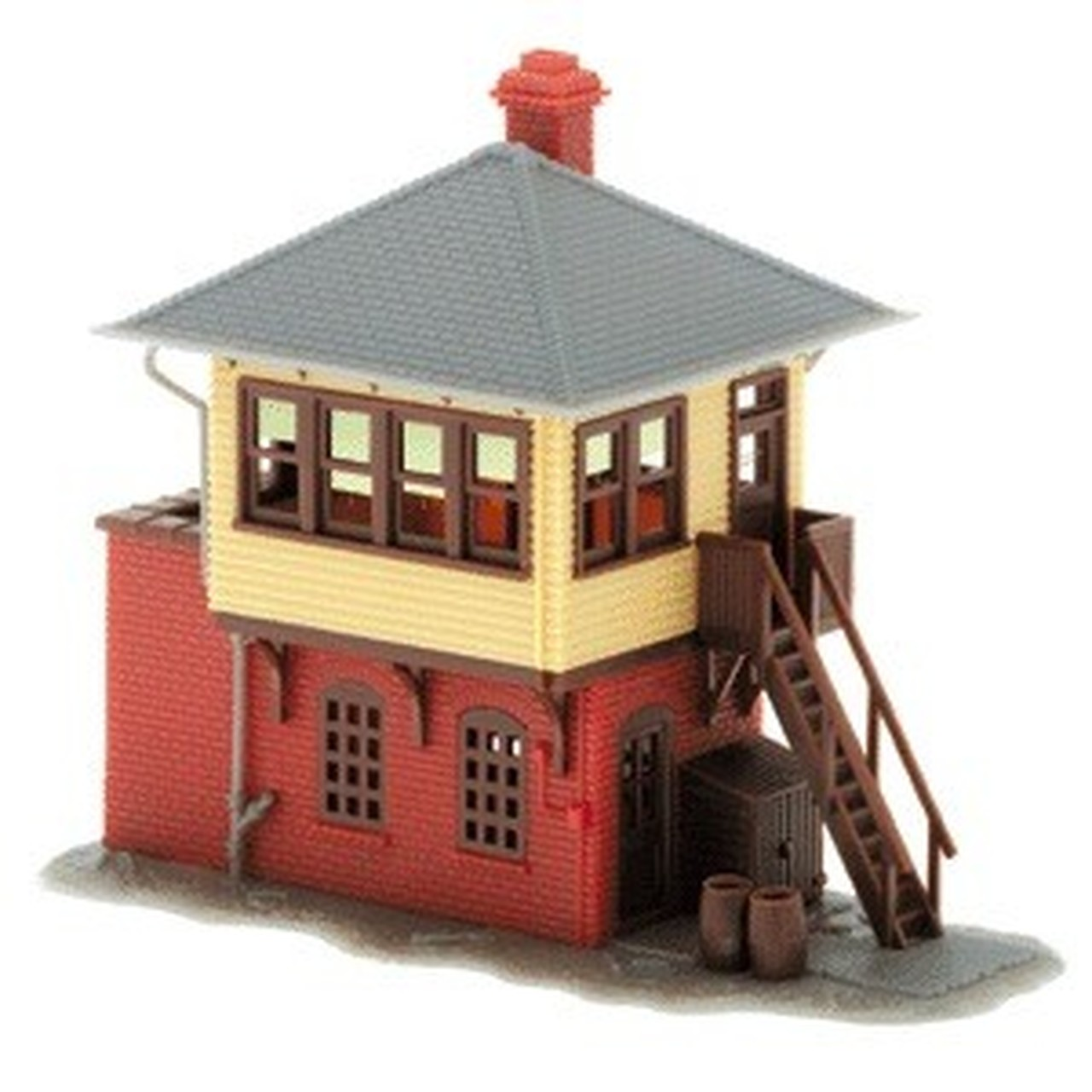 N Scale - Atlas - 2840 - Trackside Structures - Railroad Structures - Signal Tower