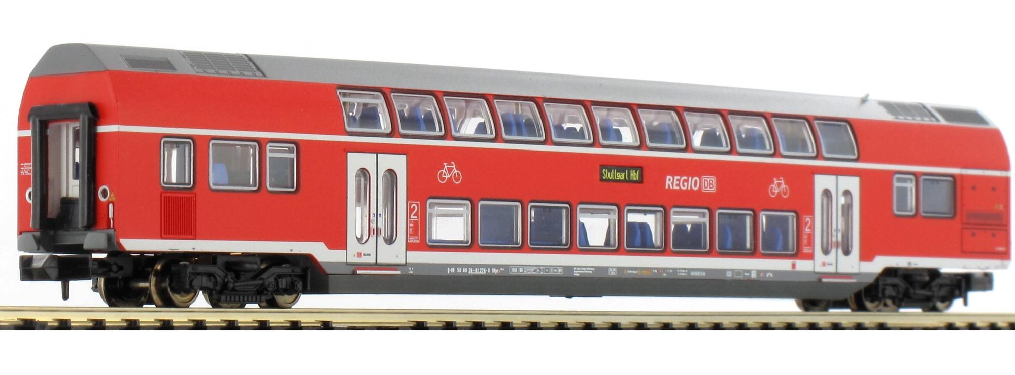 N Scale - Minitrix - 15383 - Passenger Car, DB, Epoch VI - Deutsche Bahn