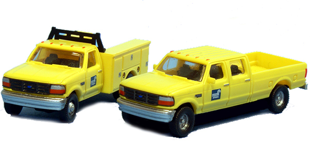 N Scale - River Point - N38-3JL9.G8 - Truck, Ford F-Series - Conrail - 2-Pack
