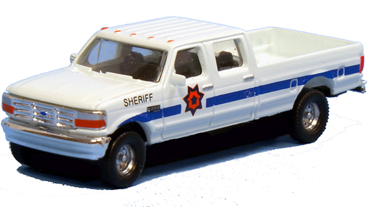 N Scale - River Point - N36-L657.77 - Truck, Ford F-Series - Police Dept - 2-Pack
