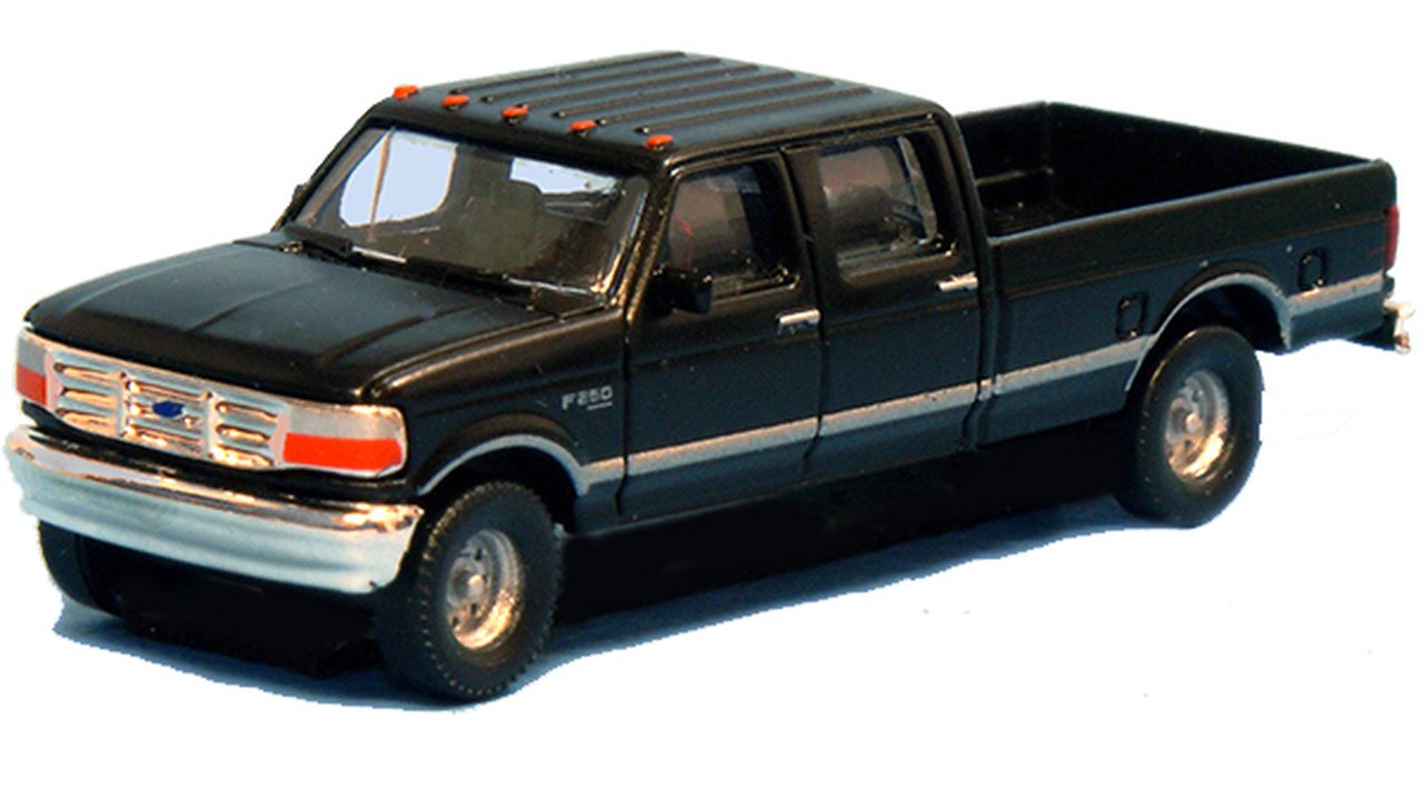 N Scale - River Point - N36-L657.07 - Truck, Ford F-Series - Painted/Unlettered - 2-Pack