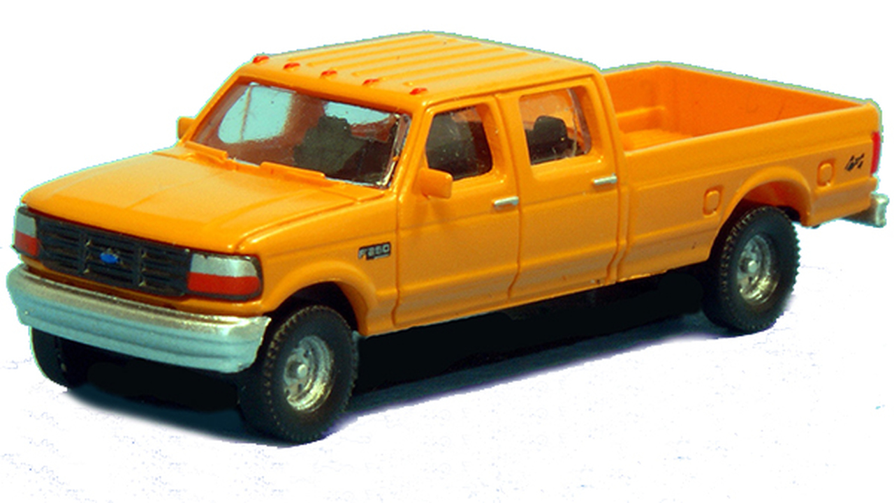 N Scale - River Point - N36-L657.02 - Truck, Ford F-Series - Painted/Unlettered - 2-Pack