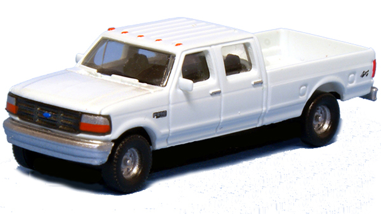N Scale - River Point - N36-L657.01 - Truck, Ford F-Series - Painted/Unlettered - 2-Pack