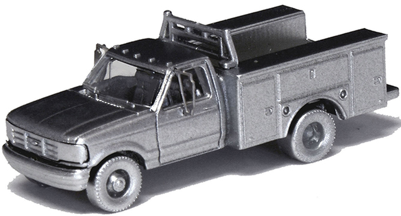 N Scale - River Point - N36-J725.00 - Truck, Ford F-Series - Undecorated - 2-Pack