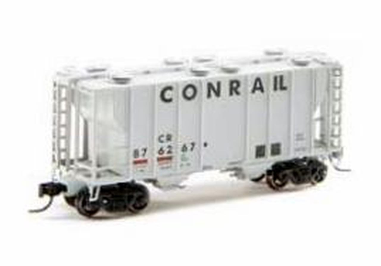N Scale - Athearn - 16320 - Covered Hopper, 2-Bay, PS2 - Conrail - 876267