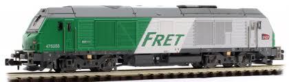 N Scale - REE Modèles - NW-112 - Locomotive, Diesel, Alstom Prima - SNCF - 475058