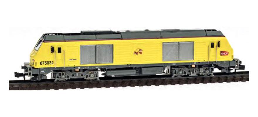 N Scale - REE Modèles - NW-106 - Locomotive, Diesel, Alstom Prima - SNCF - 75032