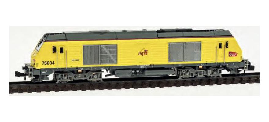 N Scale - REE Modèles - NW-107 - Locomotive, Diesel, Alstom Prima - SNCF - 75034