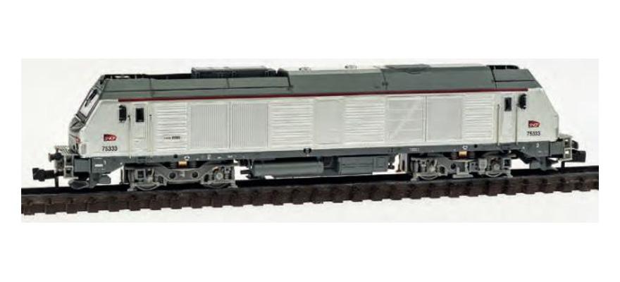 N Scale - REE Modèles - NW-108 - Locomotive, Diesel, Alstom Prima - SNCF - 75333