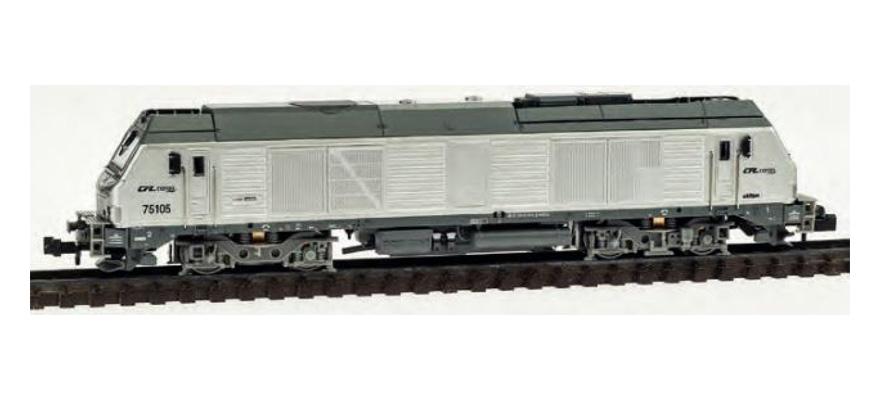 N Scale - REE Modèles - NW-110 - Locomotive, Diesel, Alstom Prima - CFL - 75105