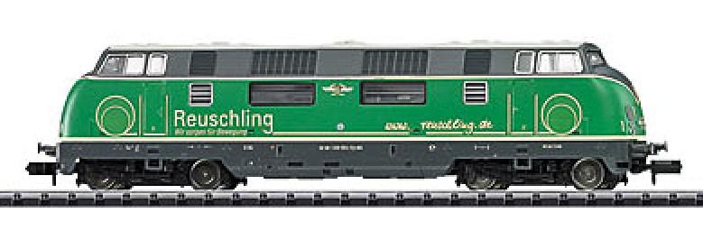 N Scale - Minitrix - 16221 - Locomotive, Diesel, DB V200 - Brohltalbahn