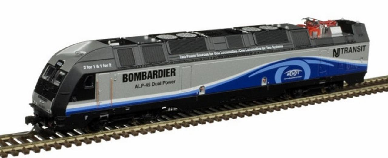 N Scale - Atlas -  40 004 259 - Locomotive, Dual-Mode, ALP-45DP - Bombardier - 4500