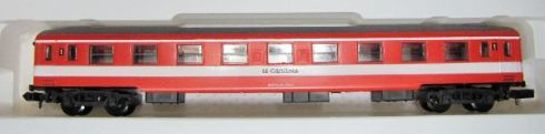 N Scale - Arnold - 0386 - Passenger Car, UIC, Type Y - SNCF - 51 87 81-90 332-4