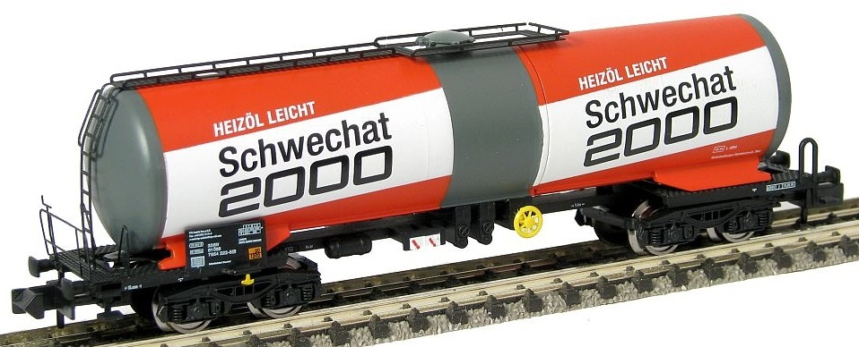 N Scale - Arnold Hornby - HN6228 - Tank Car, Single Dome, Zas - ÖBB (Austrian Federal Railways) - 33 81 785 4 222-5