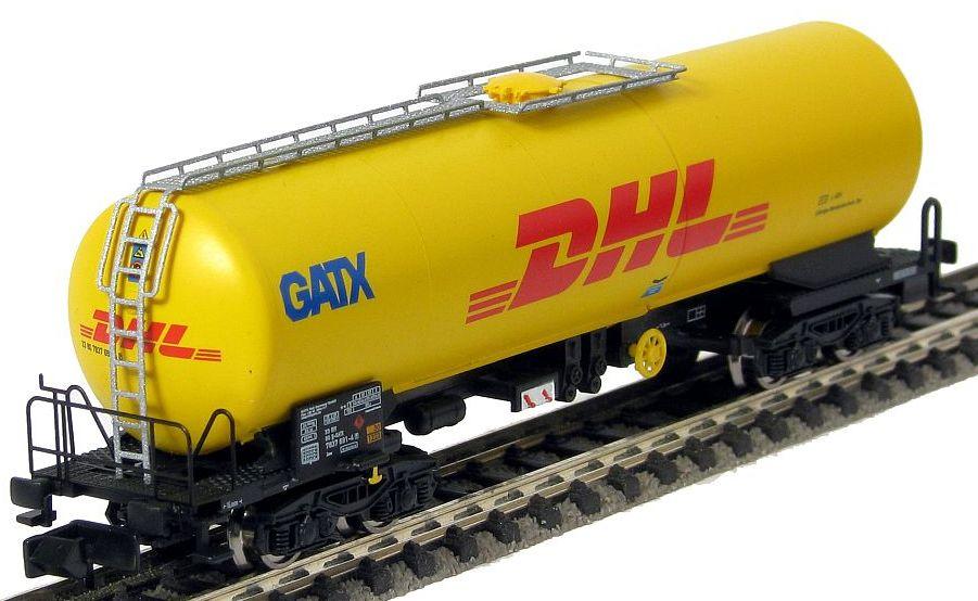 N Scale - Arnold Hornby - HN6291 - Tank Car, Single Dome, Zas - GATX Rail Europe - 33 80 7837 691-4