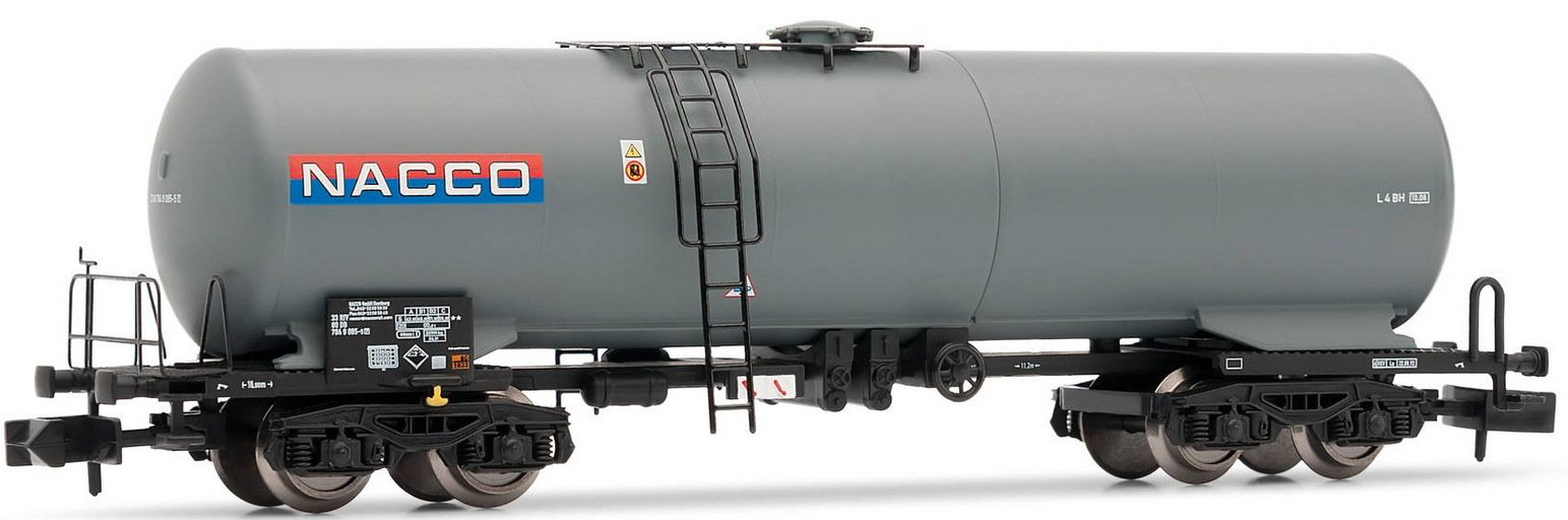 N Scale - Arnold Hornby - HN6290 - Tank Car, Single Dome, Zas - Nacco SAS - 33 80 784 9 085-5