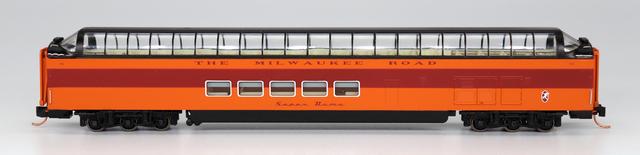 N Scale - Centralia Car Shops - CCS7101-01 - Passenger Car, Lightweight, Pullman Superdome - Milwaukee Road - 51