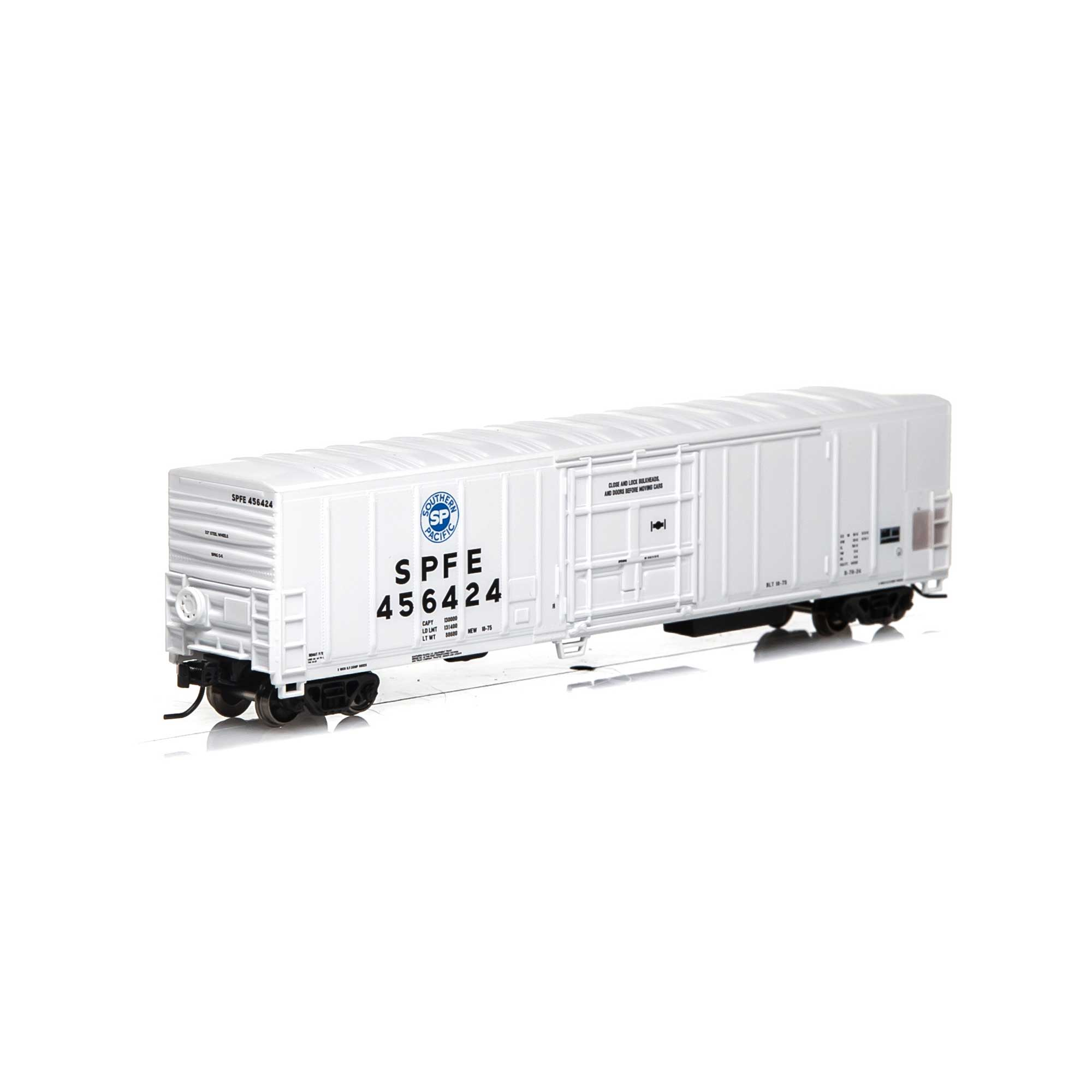 N Scale - Athearn - 25332 - Reefer, 57 Foot, Mechanical, PC&F R-70-20 - Southern Pacific - 456424