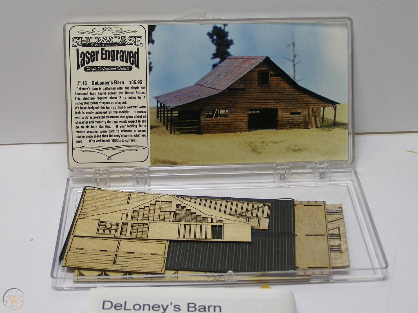 N Scale - Showcase Miniatures - 115 - Agricultural Structures - DeLoney