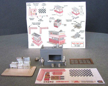 N Scale - Showcase Miniatures - 124 - Structure, Small - Route 66 - Bud