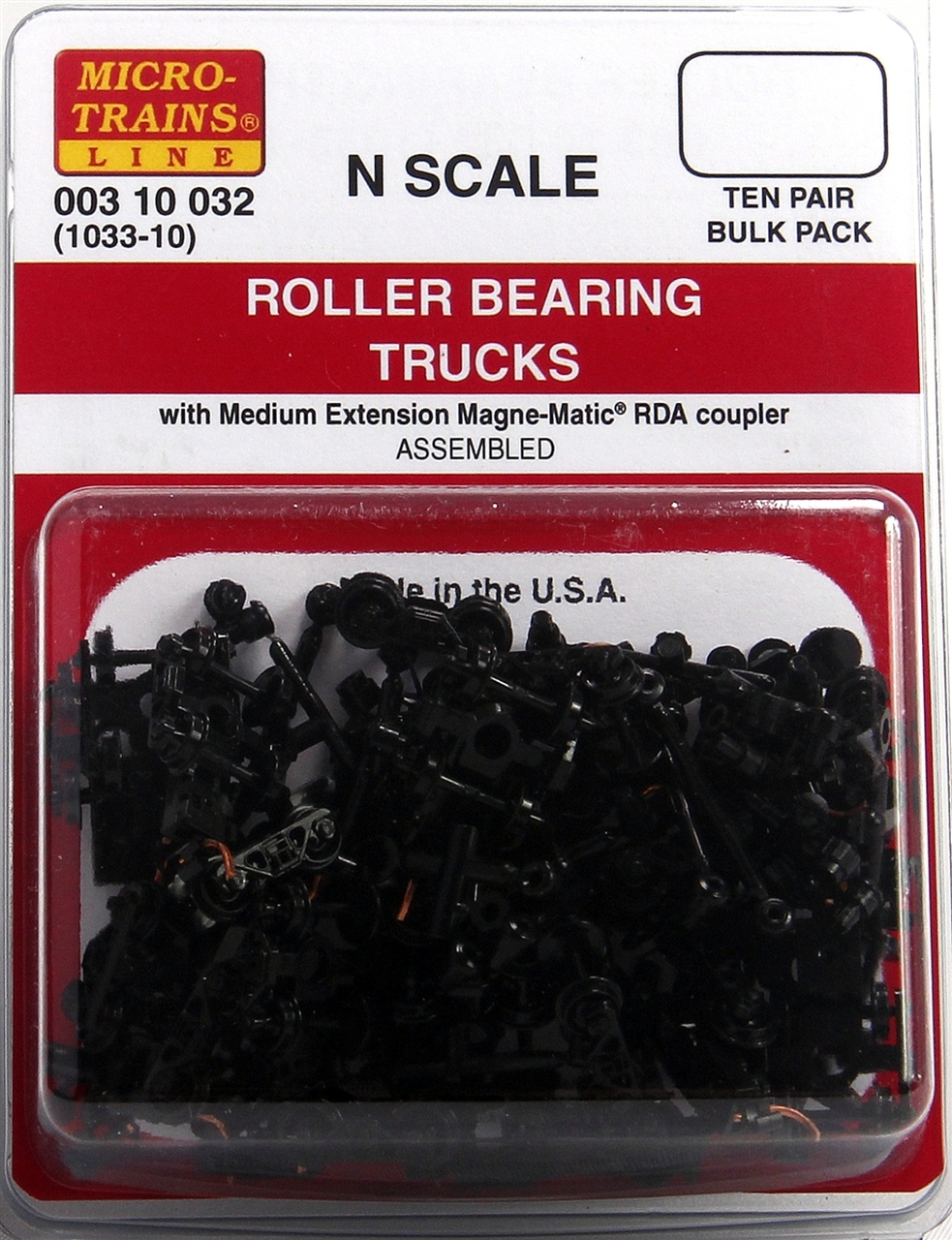 N Scale - Micro-Trains - 1033-10 - Bogies - Barber