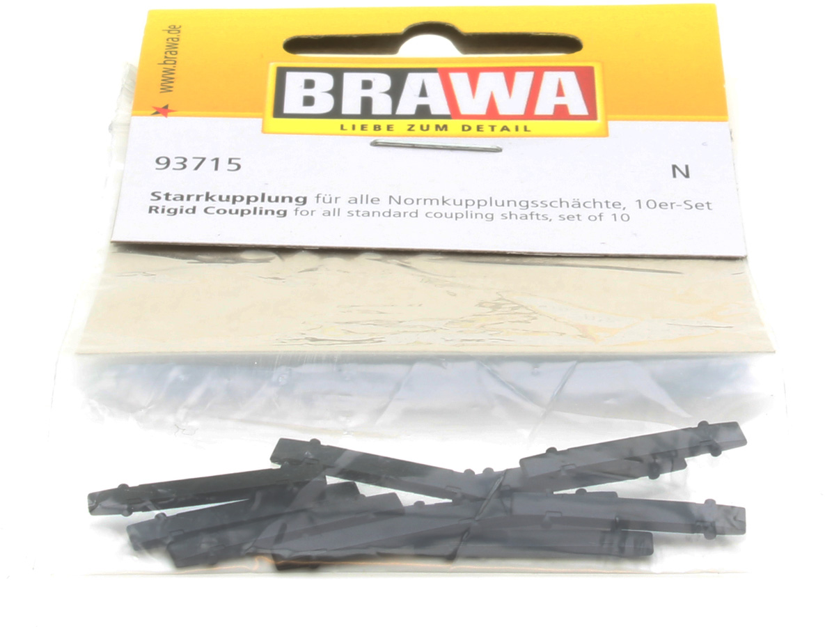 N Scale - Brawa - 93715 - Couplers - Rigid bar coupler