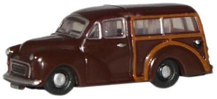 N Scale - Oxford Diecast - NMMT003 - Automobile, Morris Minor - Painted/Unlettered - ONP 603E