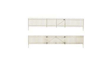 N Scale - Woodland Scenics - A2994 - Wood White Picket Fence - Scenery