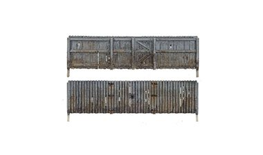 N Scale - Woodland Scenics - A2995 - Wood Privacy Fence - Scenery