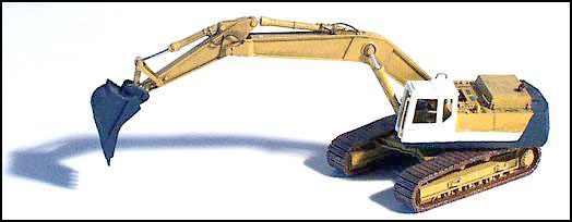 N Scale - GHQ Models - 53003 - Hydraulic Excavator - Undecorated