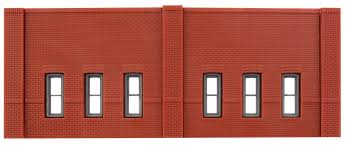 N Scale - Design Preservation Models - 60103 - One story wall structure - Undecorated