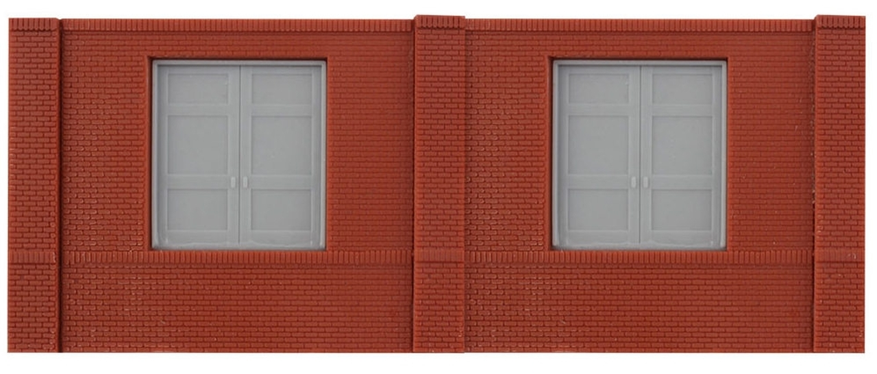 N Scale - Design Preservation Models - 60105 - Dock wall structure - Undecorated