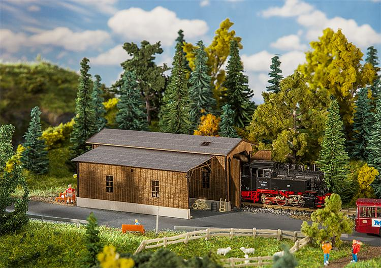 N Scale - Faller - 222167 - Railroad Structures