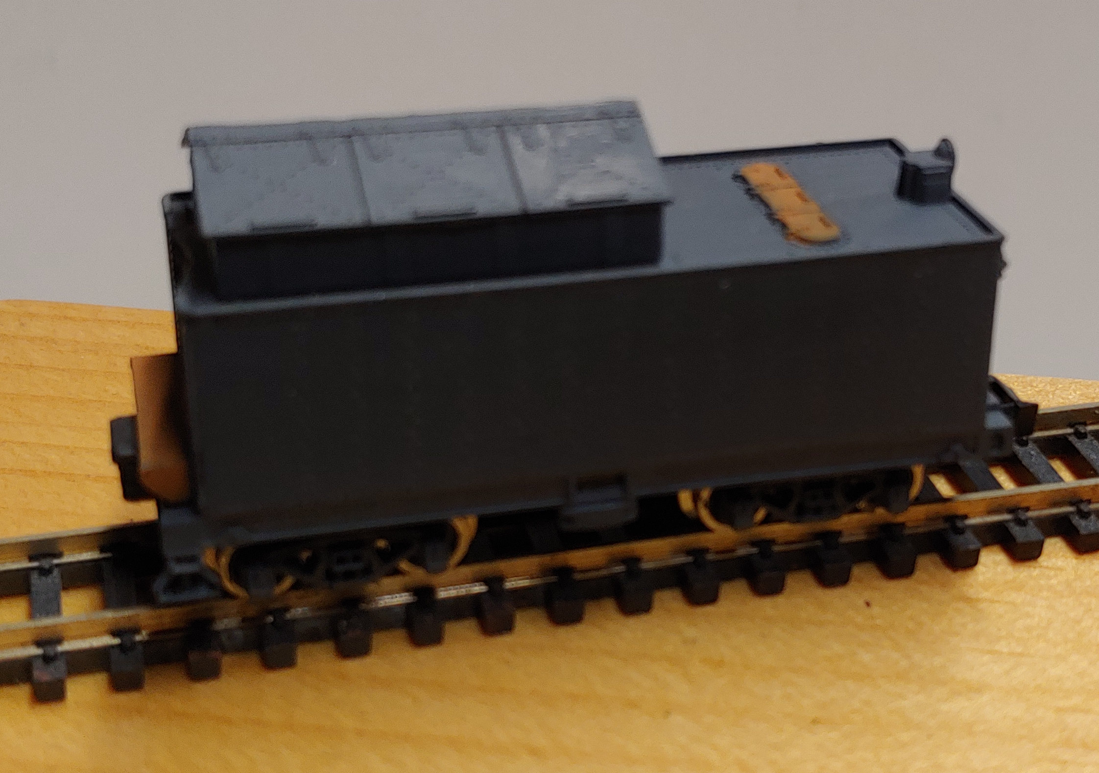 N Scale - Dimi-Trains - 1101 - Tender, Steam - Undecorated