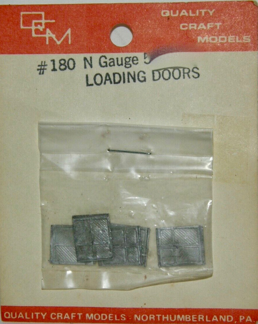 N Scale - Quality Craft Models - 180 - Doors - Undecorated