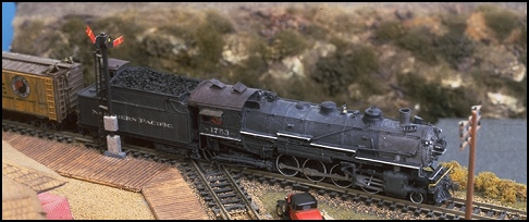 N Scale - GHQ Models - 55010 - Passenger Train, Steam, North American, Transition - Northern Pacific - Northern Pacific W-3 Mikado Coal Conversion Kit