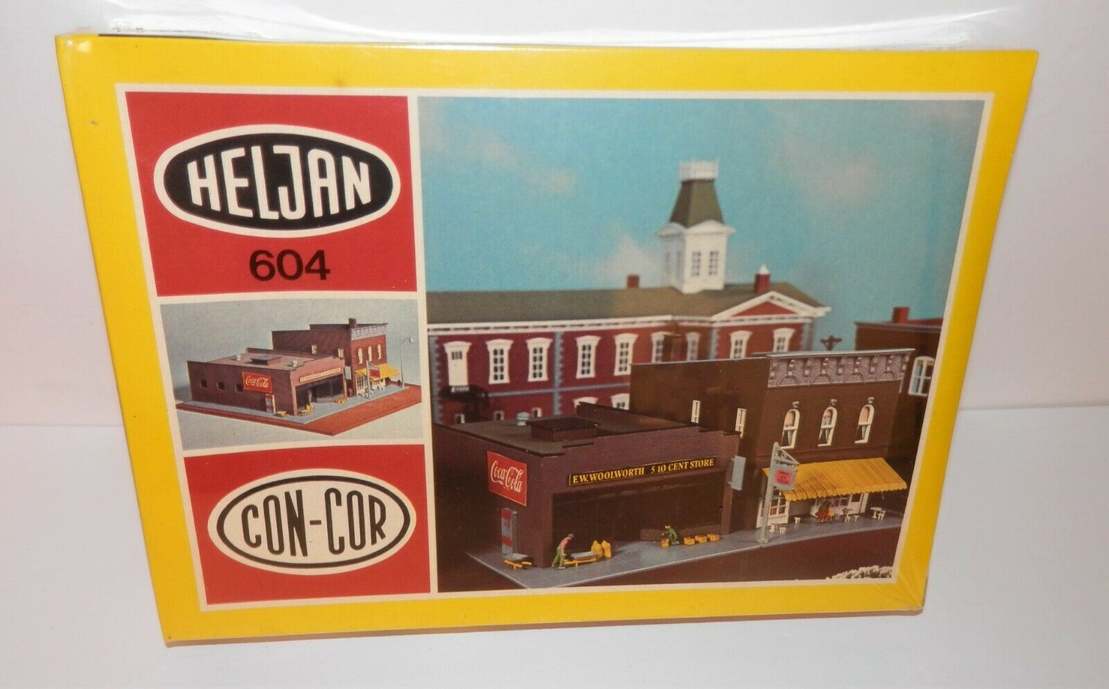N Scale - Heljan - b604 - Retail Store - Commercial Structures - F.W. Woolworth