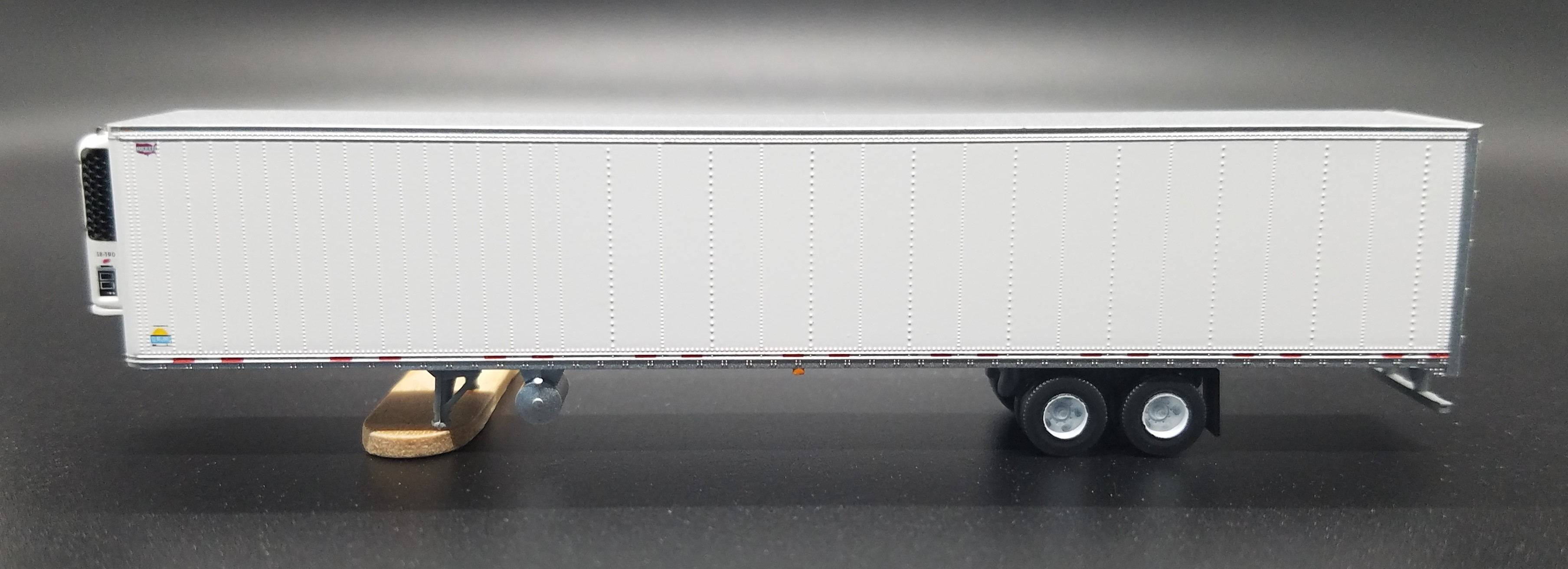 N Scale - Trainworx - 45399-4 - Trailer, 53 Foot, Box - Painted/Unlettered